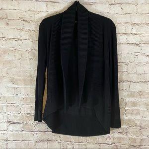International concepts INC open knit black cozy XS